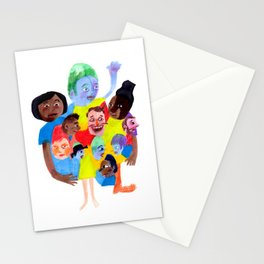 Wouldn't it be boring if we all looked the same? Stationery Cards
