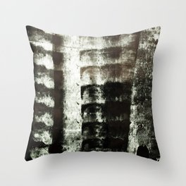 Palimpsest 7/8 - Piotr Tomalka Throw Pillow