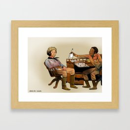 Well Raise My Rent Framed Art Print