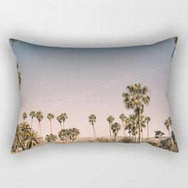 Golden Hills of L.A. Rectangular Pillow