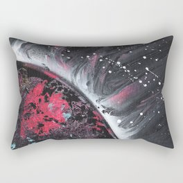 Small Space 31 dark planet Rectangular Pillow