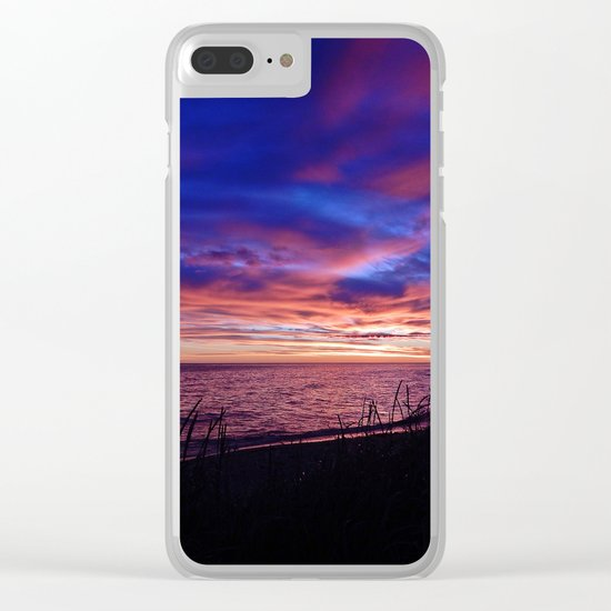 Gaspesian Delight Clear iPhone Case