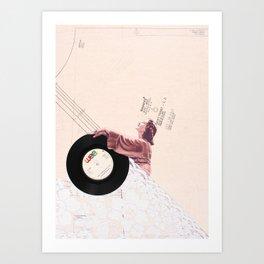 Lace & Vinyl Art Print