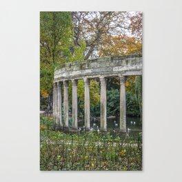 Parc Monceau Paris, France Canvas Print