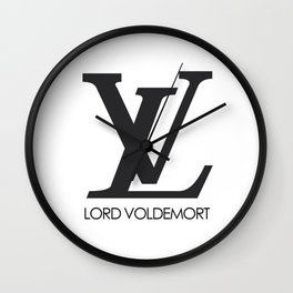 lord voldemort Wall Clock