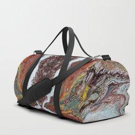 Naissance, acrylic on canvas Duffle Bag