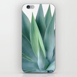 Agave blanco iPhone Skin