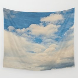 Clouds in the Sky Wall Tapestry