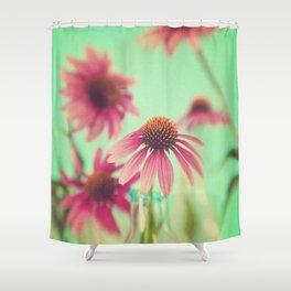 The Coneflowers Shower Curtain