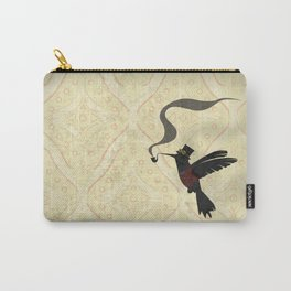 Steampunk Hummingbird Carry-All Pouch