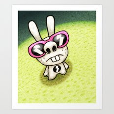 Rabbit 1/3 Art Print