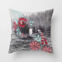 In Peace #3 Throw Pillow