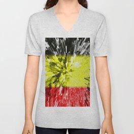 Flag of Belgium Unisex V-Neck
