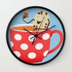 Relax. Don't Crumble! Wall Clock