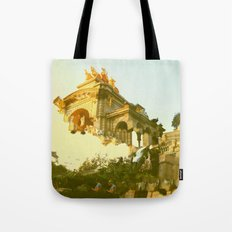 Barcelona Cubism Dreams Tote Bag
