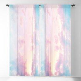 Unicorn Pastel Clouds #2 #decor #art #society6 Blackout Curtain