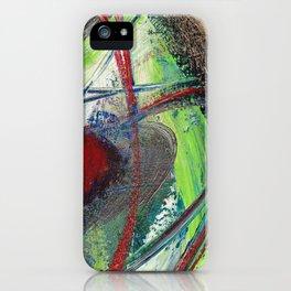 Red Saturn iPhone Case