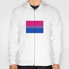 bisexual flag Hoody
