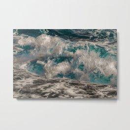 troubled waters Metal Print