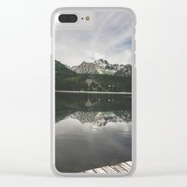High Tatras reflections Clear iPhone Case