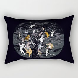 Meowlin Temple Rectangular Pillow