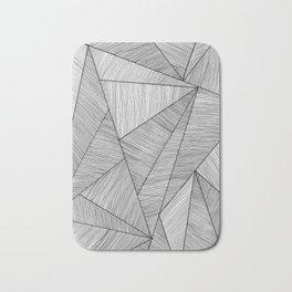 Triangel Lines Bath Mat