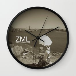 Tranquility II Wall Clock