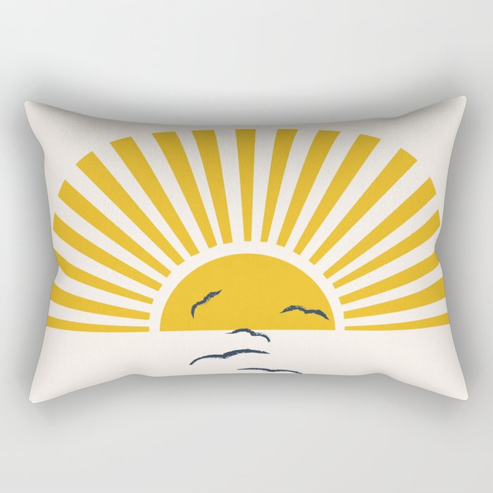 Minimalistic Summer I Rectangular Pillow