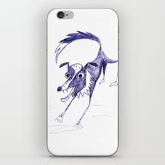 Border Collie Blue iPhone & iPod Skin