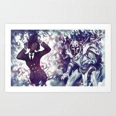 Zwielicht Art Print