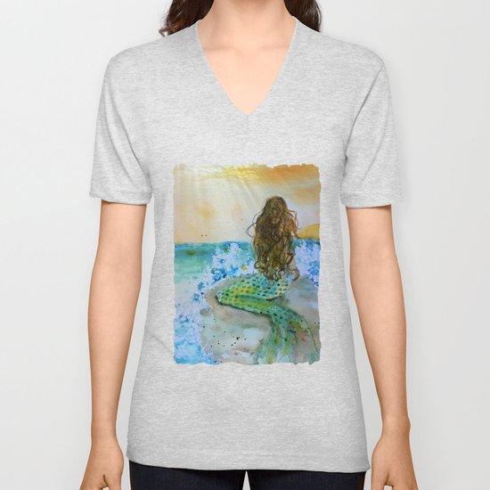 Final Joy Mermaid by deborahthomsenwalkerfineart