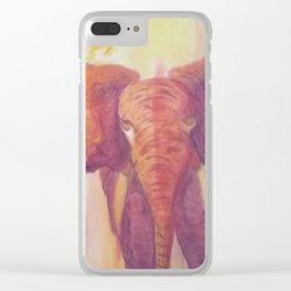 The Savanna Clear iPhone Case