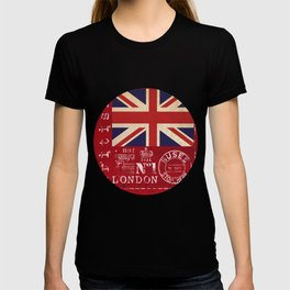 Union Jack Great Britain Flag T-shirt