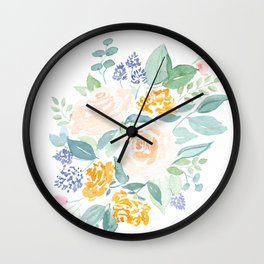 I Never Promised You a (Mini) Rose Garden Wall Clock