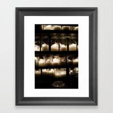 Behind The Light Framed Art Print