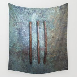 Three Nails Wall Tapestry