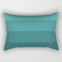 Winter Dark Teal - Color Therapy Rectangular Pillow