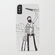 Hail to the Beard, baby Slim Case iPhone X