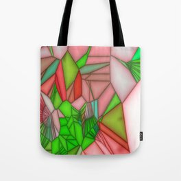 stained glass wonderfull colours Tote Bag
