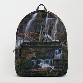 Autumn waterfalls Backpack