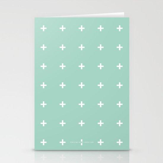 Mint Cross // Mint Plus ///www.pencilmeinstationery.com Stationery Cards