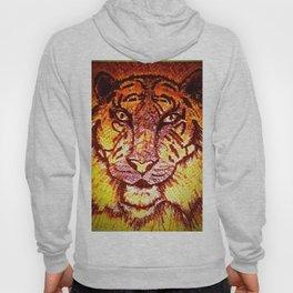 Mosaic Bengal Tiger - Enhanced Hoody