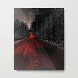 Molten Road Metal Print