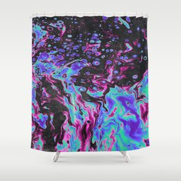 THE VOID IN ITSELF Shower Curtain