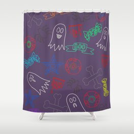 Trick or treat #3 Shower Curtain