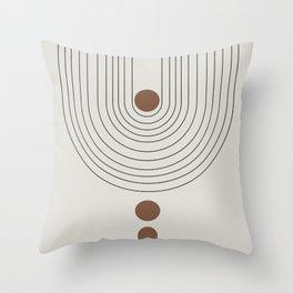 Balance III Throw Pillow