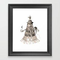 Coneman Framed Art Print