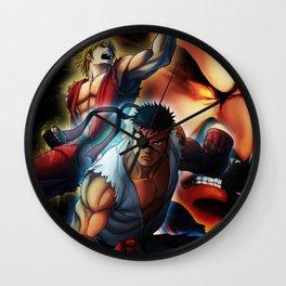 Street Fighters Wall Clock