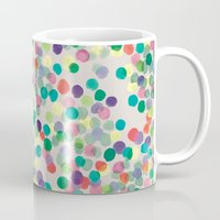 dots Mugs featuring Dots by moniquilla