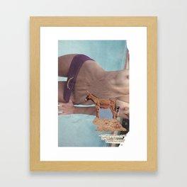 Long Suffering Framed Art Print
